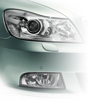 VAG Блог: Audi, Volkswagen, Skoda, Seat, Porsche: Оптика и противотуманка Skoda A5