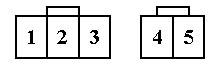 Разъемы 3-х (pin) и 2-х (pin) контактные разъемы Honda