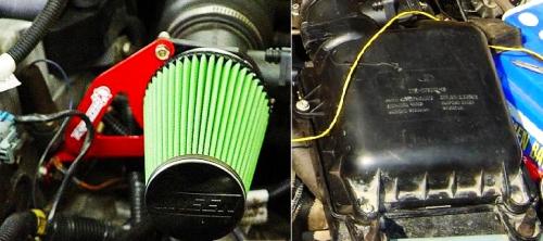 Чип тюнинг и доработки двигателя: Фильтр нулевого сопротивления