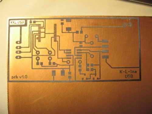 ВАЗ, ГАЗ, ЗАЗ Блог: Блог им. alexavias: Лада 21099 фиолетовый квазарчик ›  Делаю K-line USB адаптер…часть 2/1 МегО отчЁт