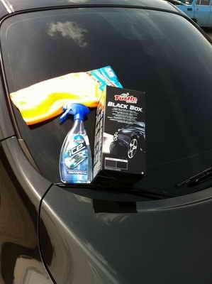 Автохимия. Как правильно ухаживать за автомобилей: Turtle Wax Black Box или самостоятельная легкая полировка авто