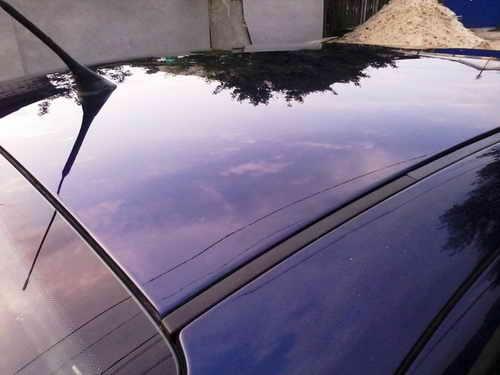 Автохимия. Как правильно ухаживать за автомобилей: полировка крыши авто SEAT Toledo
