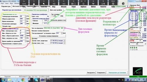ГБО. Как установить, настроить и диагностировать систему: Самостоятельная настройка ГБО-4 (Digitronic 3D Power)