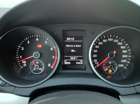 VAG Блог: Audi, Volkswagen, Skoda, Seat, Porsche: Отображение свободного места в баке в литрах