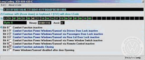 VAG Блог: Audi, Volkswagen, Skoda, Seat, Porsche: Активация дотяжки стекол дверей без удержания кнопки штатного брелока