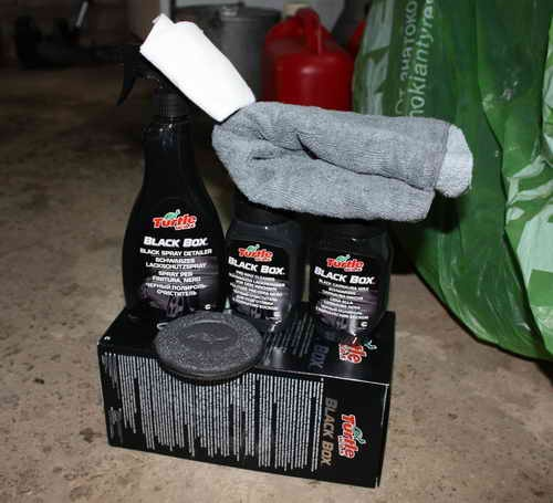 Автохимия. Как правильно ухаживать за автомобилей: Turtle Wax Black Box. Как я полировал свой Ленд Круизер