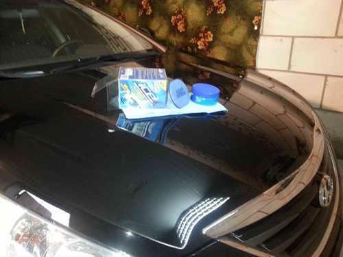 Автохимия. Как правильно ухаживать за автомобилей: Полироль-паста Turtle Wax ICE
