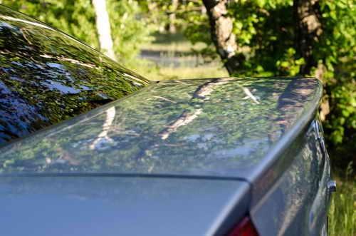 Автохимия. Как правильно ухаживать за автомобилей: Абразивная полировка кузова Opel Astra Mirage