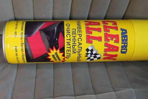 Автохимия. Как правильно ухаживать за автомобилей: пенный очиститель салона ABRO
