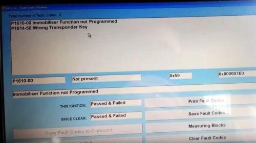 OPEL Блог (Opel, Vauxhall): Ошибка Opel P1610 - Действие иммобилайзера не запрограммировано! Как решить?!