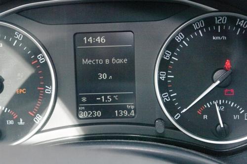 Чип тюнинг и доработки двигателя: Skoda Octavia Scout ♛ Коригування показання датчика палива і функції місце в баку.